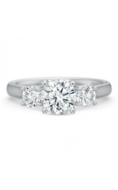 Precision Set FlushFit Engagement ring 767018w product image