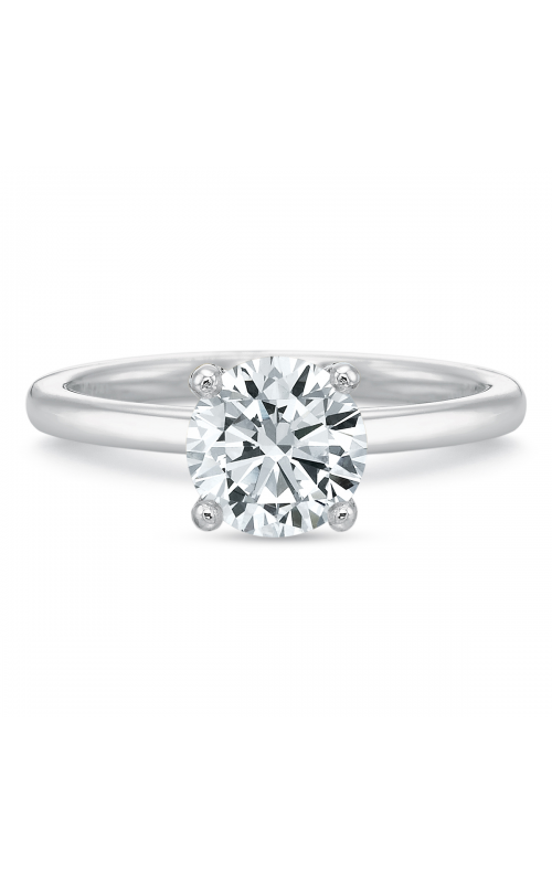 Precision Set Modern Classic Engagement ring 227018w product image