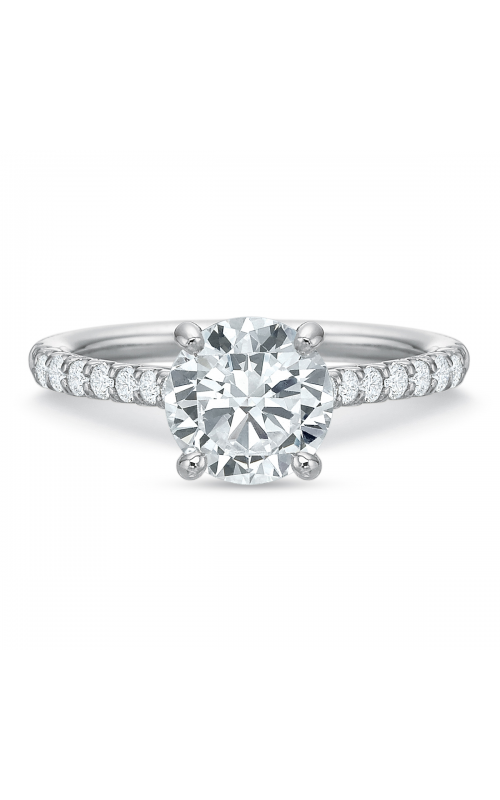 Precision Set Shared Prong Engagement ring 617218w product image