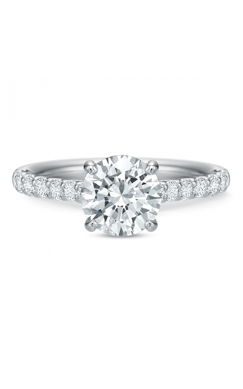 Precision Set Shared Prong Engagement ring 617318w product image