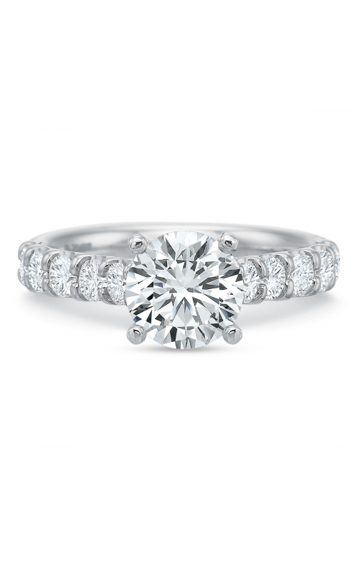 Precision Set Shared Prong Engagement ring 617518w product image