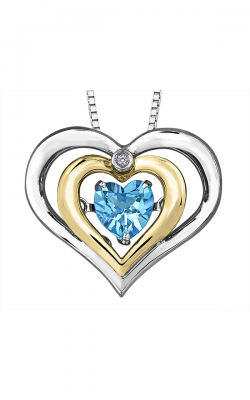Pulse™ Blue Topaz Pendant PP3646C-SY product image