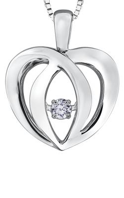 Pulse™ Diamond Solitaire Pendant PP3202/05C-SS product image