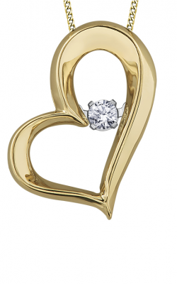 Pulse™ Diamond Solitaire Pendant PP3263YW/05C-10 product image