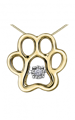 Pulse™ Diamond Solitaire Pendant PP4127YW/02C-10 product image