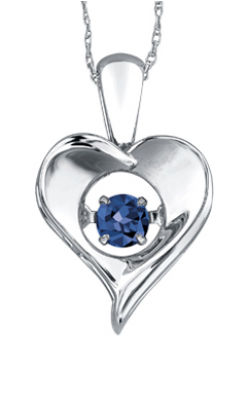 Pulse™ Sapphire Solitaire Pendant PP3172/9C-SS product image