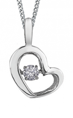Pulse™ Diamond Solitaire Pendant PP3113W/05C-10 product image