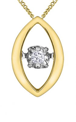 Pulse™ Diamond Solitaire Pendant PP3440YW/02C-10 product image