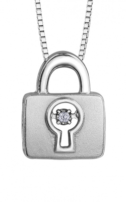 Pulse™ Diamond Solitaire Pendant PP4125/02C-SS product image