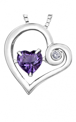 Pulse™ Amethyst Pendant PP4221C-SS product image