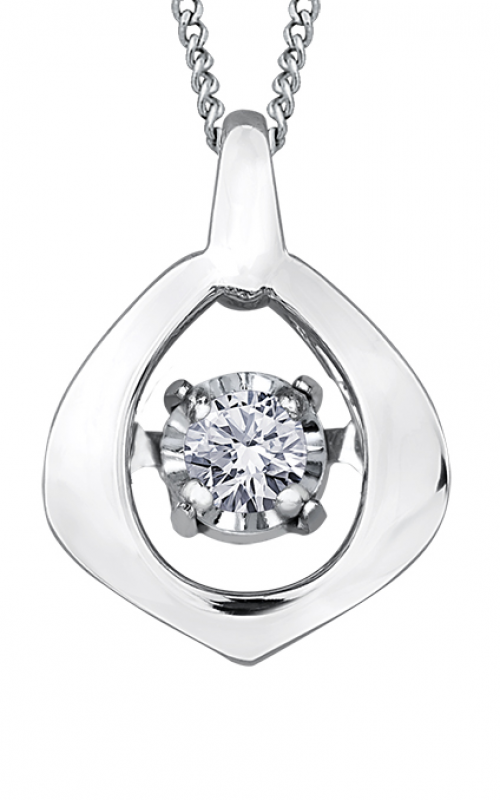 Pulse™ Diamond Solitaire Pendant PP3438W/02C-10 product image