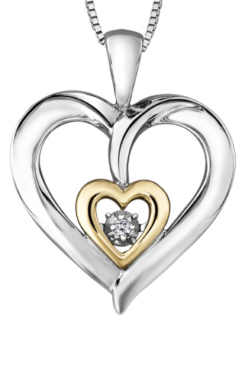 Pulse™ Diamond Solitaire Pendant PP4006/02C-SY product image