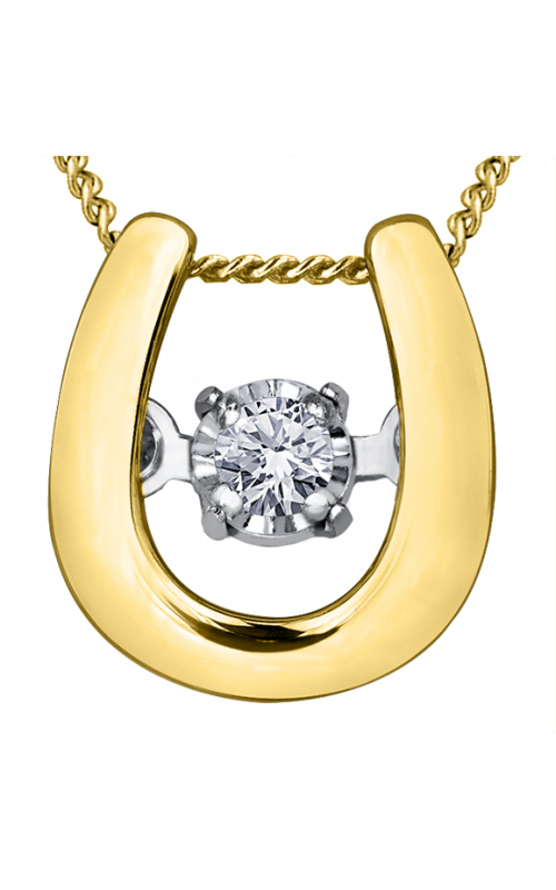 Pulse™ Diamond Solitaire Pendant PP3443YW/02C-10 product image
