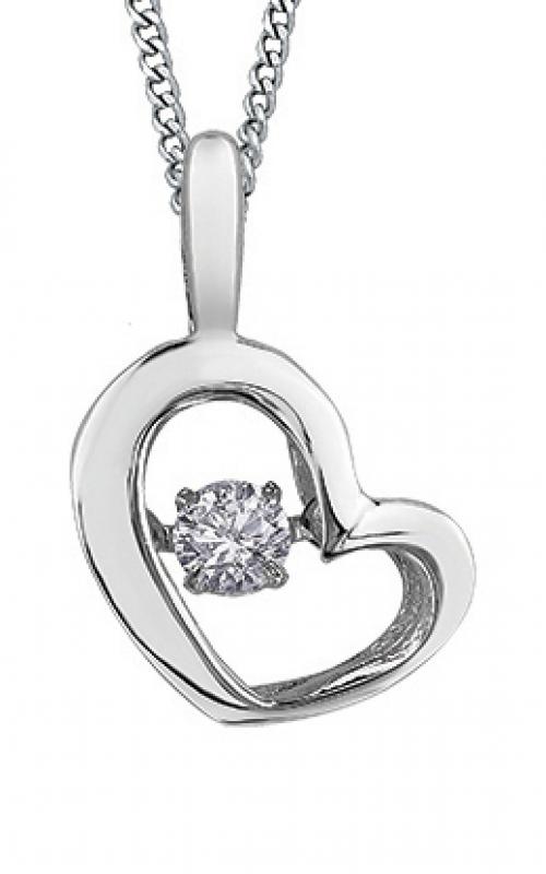 Pulse™ Diamond Solitaire Pendant PP3113W/05C-10 product image