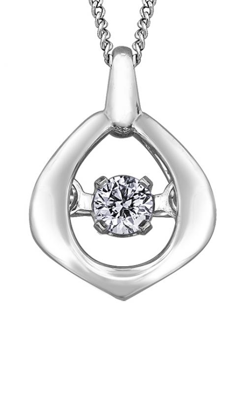 Pulse™ Diamond Solitaire Pendant PP3438W/02C-10 product image