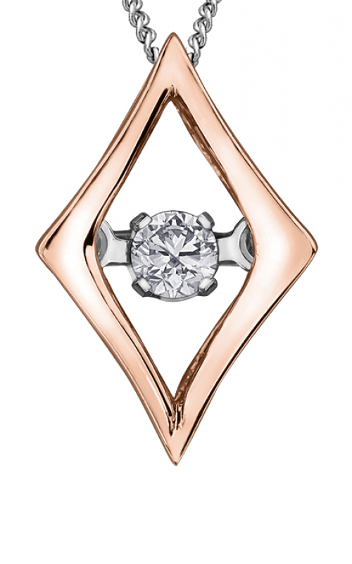 Pulse™ Diamond Solitaire Pendant PP3439RW/02C-10 product image