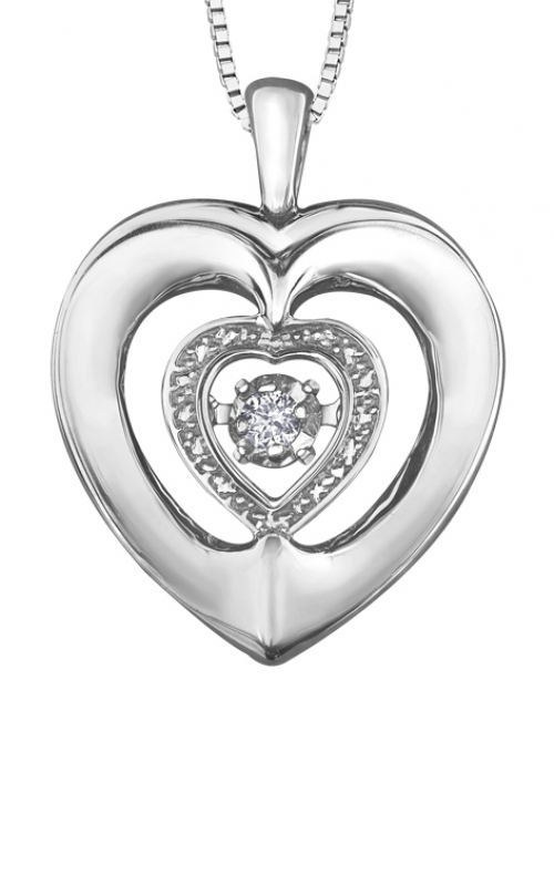 Pulse™ Diamond Solitaire Pendant PP4112/03C-SS product image