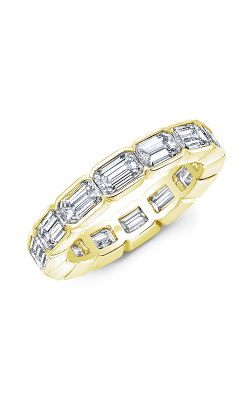 Rahaminov Diamonds East West Wedding band EB-2097 product image