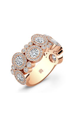 Rahaminov Diamonds Bubble Wedding band ER-1332 product image