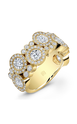 Rahaminov Diamonds Bubble Wedding band EB-1323 product image