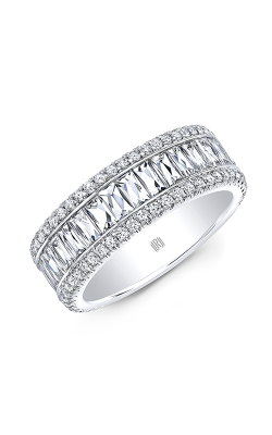 Rahaminov Diamonds Bar Wedding band EB-2108 product image