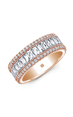 Rahaminov Diamonds Bar Wedding band EB-2131 product image