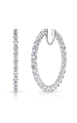Rahaminov Diamonds In/Out Hoops Earrings EAR-3425 product image