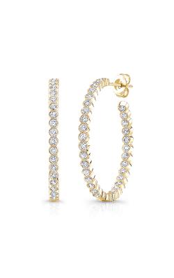 Rahaminov Diamonds Beaded Earrings EAR-4259-YG product image