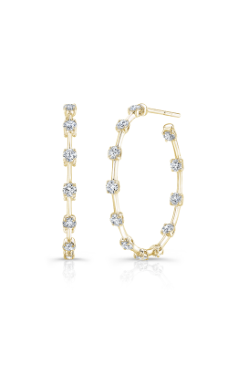 Rahaminov Diamonds Bar Earrings EAR-4447-YG product image