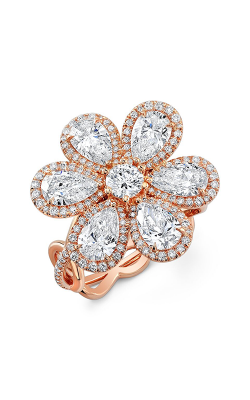 Rahaminov Diamonds Flower Fashion Ring RING-1635 product image