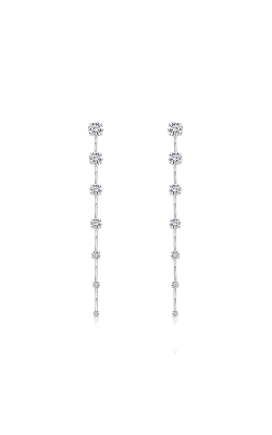 Rahaminov Diamonds Bar Earrings EAR-4489 product image