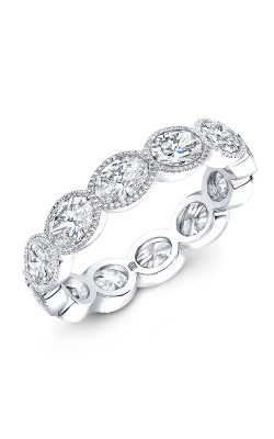 Rahaminov Diamonds Beaded Wedding band EB-1910-WG product image
