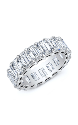Rahaminov Diamonds Bar Wedding band EB-1805 product image