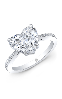 Rahaminov Diamonds Heart Engagement ring FL-2898 product image