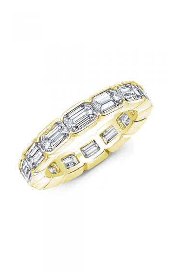 Rahaminov Diamonds East West Wedding band EB-2097 product image