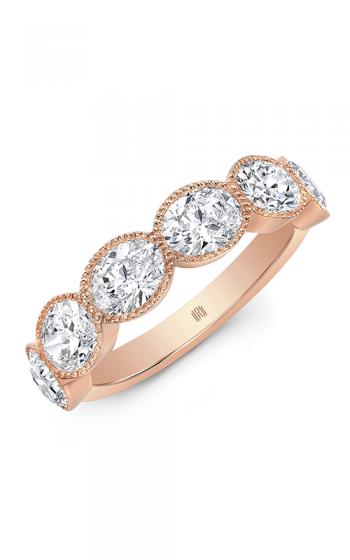 Rahaminov Diamonds Beaded Wedding band EB-1916-RG product image
