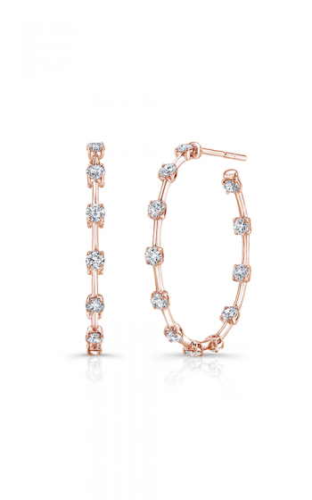 Rahaminov Diamonds Bar Earrings EAR-4447-RG product image