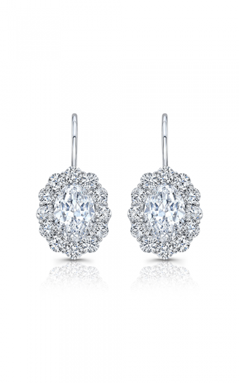 Rahaminov Diamonds Cluster Earrings EAR-4037 product image