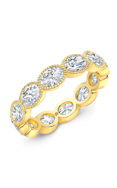 Rahaminov Diamonds Beaded Wedding band EB-1910 product image