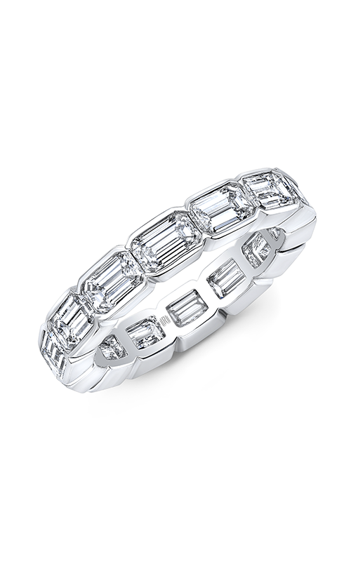 Rahaminov Diamonds East West Wedding band EB-2093 product image