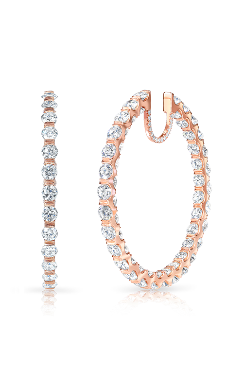 Rahaminov Diamonds In/Out Hoops Earrings EAR-3741 product image