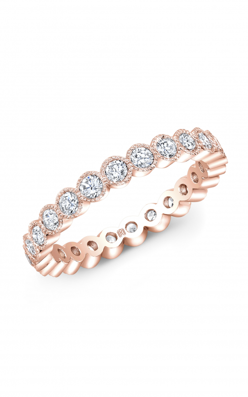 Rahaminov Diamonds Beaded Wedding band EB-1709-RG product image