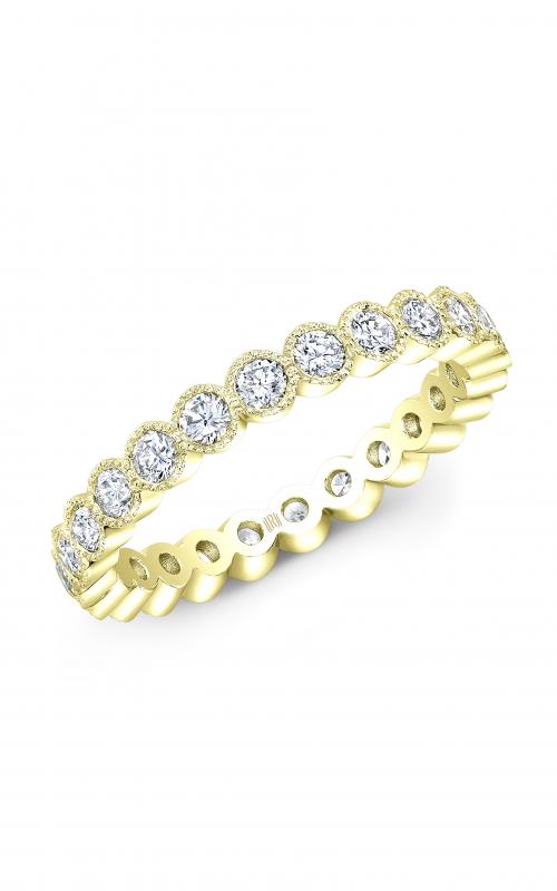 Rahaminov Diamonds Beaded Wedding band EB-1709-YG product image