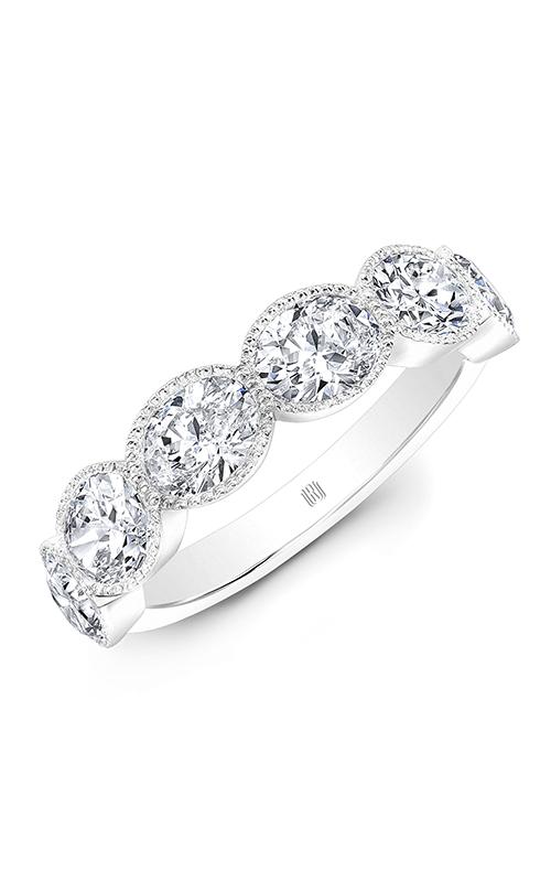 Rahaminov Diamonds Beaded Wedding band EB-1916-WG product image