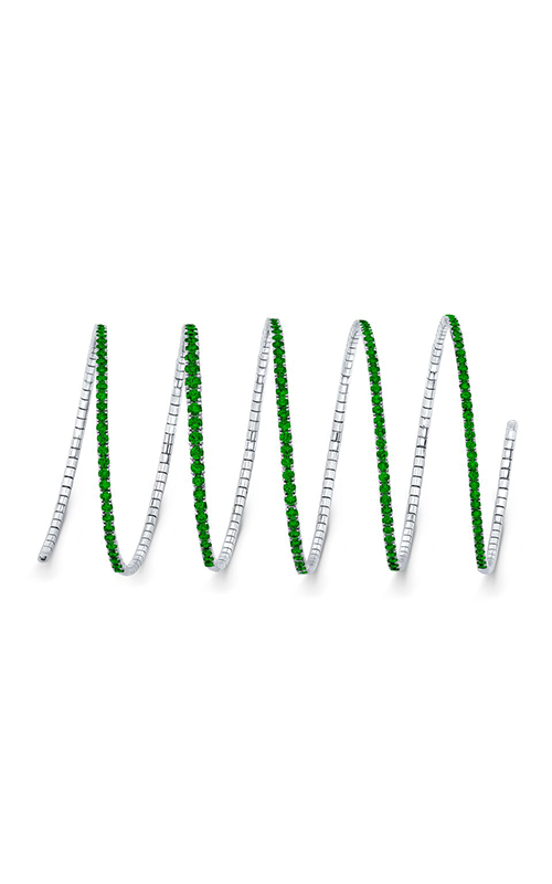 Rahaminov Diamonds Coil Bracelet CS-1366 product image