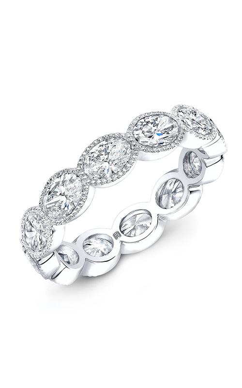 Rahaminov Diamonds Beaded Wedding band EB-1910-WG product image