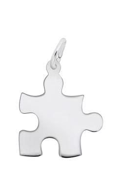 Rembrandt Charms Autism Awareness Puzzle Piece Charm 2479 product image