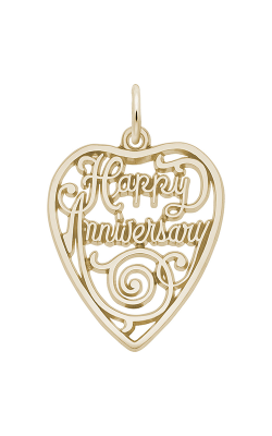 Rembrandt Charms Happy Anniversary Heart Charm 2892 product image