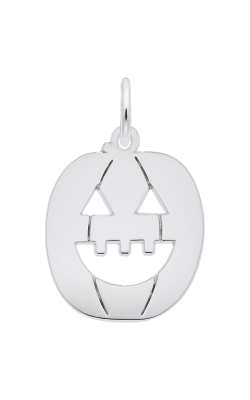 Rembrandt Charms Flat Jack O' Lantern Charm 7717 product image