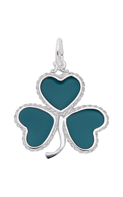 Rembrandt Charms Green Shamrock Charm 8188 product image